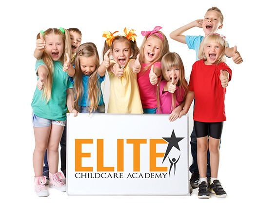 smiling kids at Elite Childcare Academy